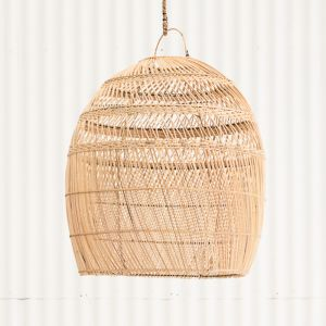 Daliah Rattan Oversized Lightshade Natural