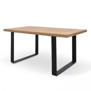Dalton Reclaimed Elm Wood Dining Table | Rustic Natural | 170cm
