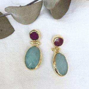 Damara Double Drop Earrings l Pre Order