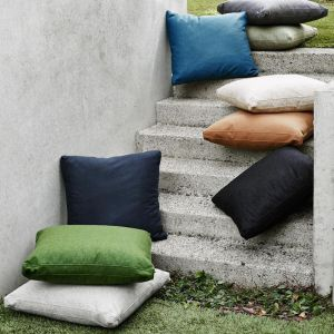 Dane Cushion by Abode Living | Charcoal