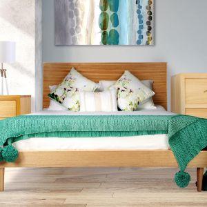 Danish Custom Victorian Ash Oak Bed Frame by Bedworks | Various Sizes by Bedworks