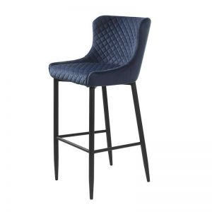 DANYA Bar Stool - Blue