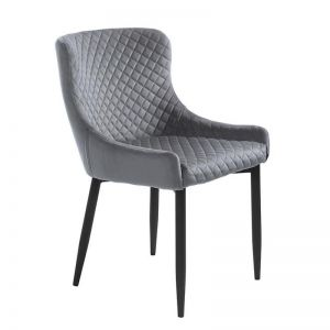 Danya Dining Chair | Light Grey