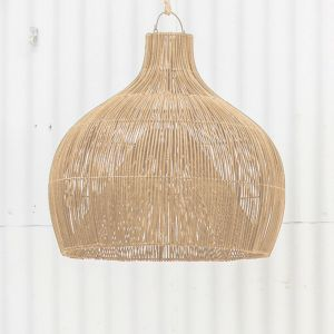 Dari Rattan Oversized Lighting in Natural