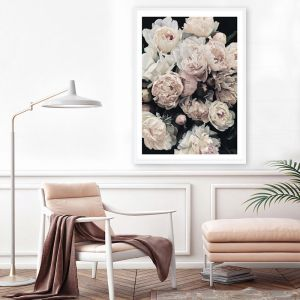 Dark Blooms I Premium Art Print (Various Sizes)