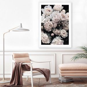 Dark Blooms II Premium Art Print (Various Sizes)