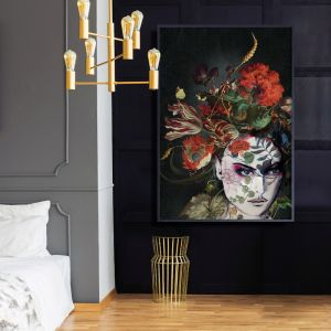 Dark Collage  |  Signed Artist's Print  |  Sized for Easy Framing