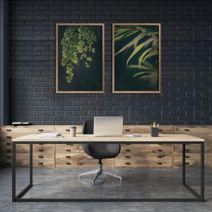 Dark Foliage | Set of 2 Art Prints | Unframed