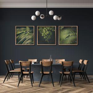 Dark Foliage   Set of 3 Art Prints   Unframed