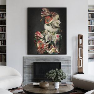 Dark Garden |  Signed Artist's Print or Print on Canvas