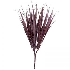 Dark Red Artificial Grass Stem | 35cm Long | UV Resistant