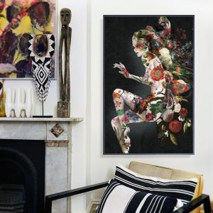 Dark Swim   Signed Artist's Print or Print on Canvas
