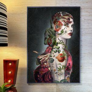 Dark Tattoo #1   Signed Artist's Print or Print on Canvas