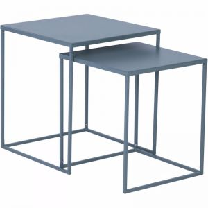 Darnell Nest Of 2 Tables 40Cm | Grey