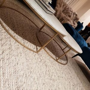 Dasha | Ivory Light Grey Rug | Handmade Wool
