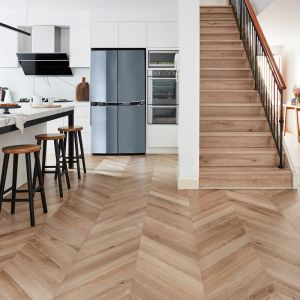 De Marque Chevron | Timber Flooring | Various Colours | Carpet Court