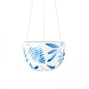 Decorative Blue Botanical Small