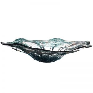 Decorative Glass Bowl | Emerald | by Dasch Design