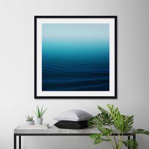 Deep Blue by Leah Flores | Unframed Art Print