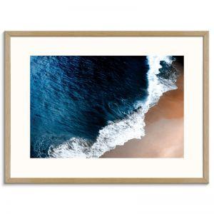Deep Blue | Framed Art Print | SALE