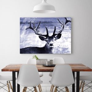 Deer At Dawn | Canvas Art