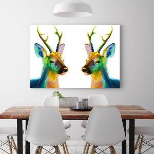 Deer Lovely   Canvas Art