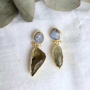 Delia Double Drop Earrings