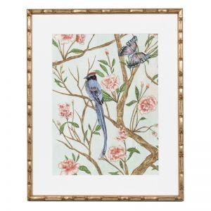 Delicate Chinoiserie I Framed Print