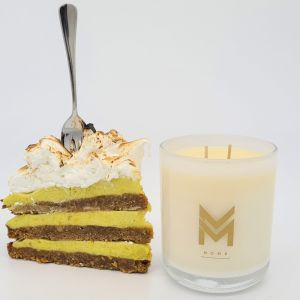 Deliciously Decadent Candle | Key Lime Pie by Mitch and Mark | Personally signed