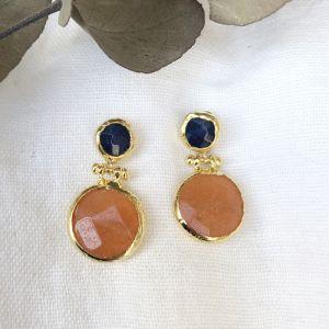 Delphina Double Drop Earrings l Pre Order