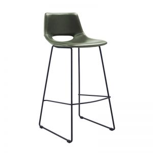 Denver Bench Barstool | Green | CLU Living { PrerOrder