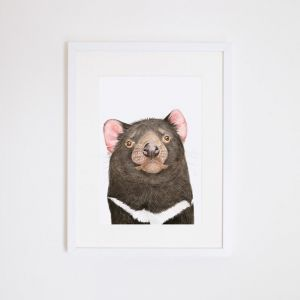 Des the Tasmanian Devil | Giclee Print by For Me By Dee