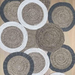Desa Placemat in Various Colours by Satara | Set of 6