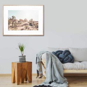 Desert Haze | Framed Print by United Interiors