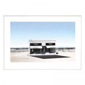 Desert Prada | Framed Art Print