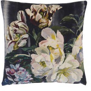 Designers Guild Delft Flower Noir Cushion