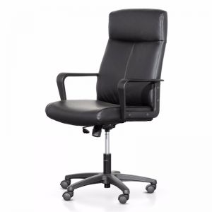 Devin High Back Executive Chair | Black