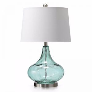Dew Drop Glass Table Lamp | 3 Colours | by Black Mango