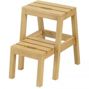 Dextra Step Stool | Natural Finish | Modern Furniture