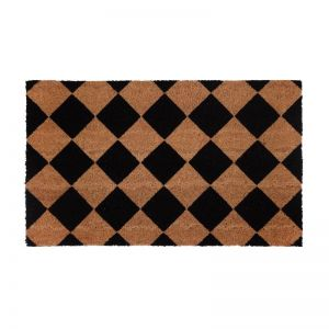 Diamond | PVC Backed Coir Doormat | Fab Habitat