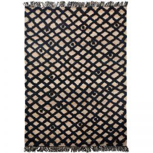 Diamonds Weave Rug by Amigos de Hoy | Black