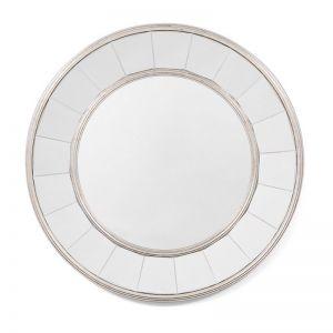 Dianna Round Mirror 100cm | Champagne