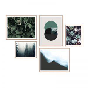 Dichotomy   Framed Print Set   ArteFocus