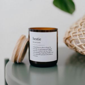 Dictionary Meaning Soy Candle | Bestie