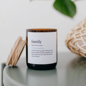 Dictionary Meaning Soy Candle | Family