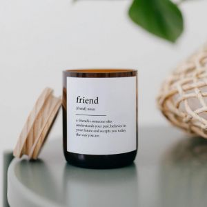 Dictionary Meaning Soy Candle | Friend