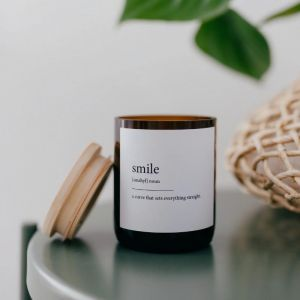 Dictionary Meaning Soy Candle | Smile