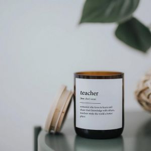 Dictionary Meaning Soy Candle | Teacher