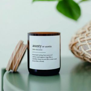 Dictionary Mid Soy Candle | Aunty
