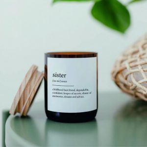 Dictionary Mid Soy Candle | Sister